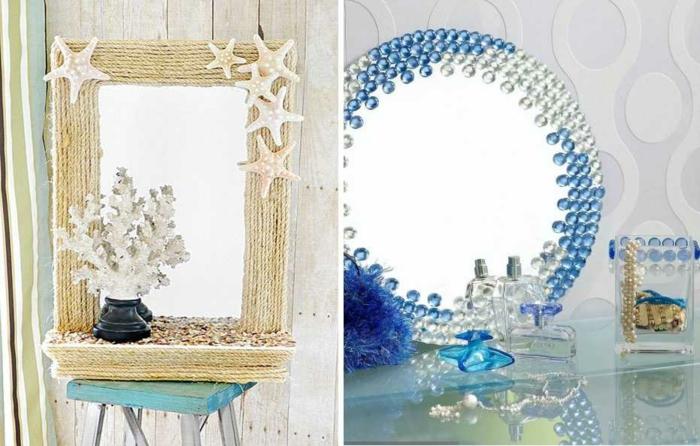 diy miroir touche de mer