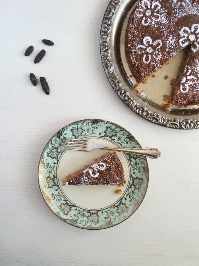 gâteau recette avec fève tonka