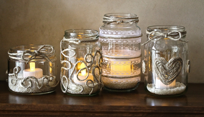 idée diy facile lanterne jardin