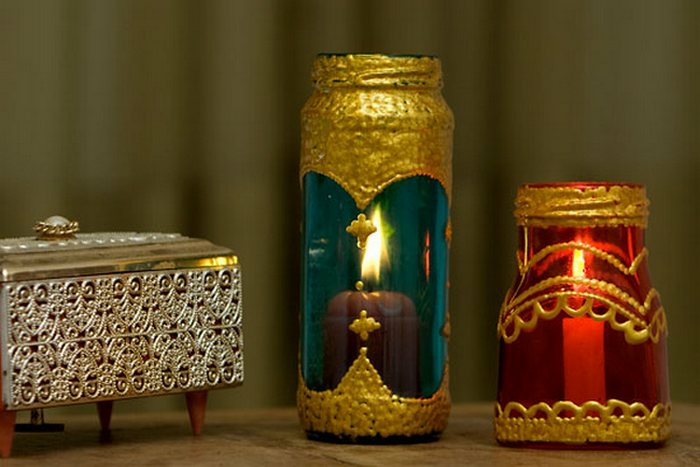 idée inspirante de lanterne jardin style marocain