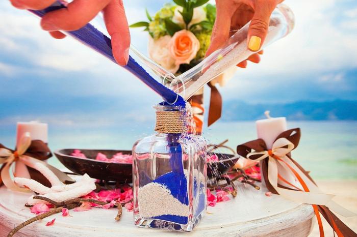 idée pour votre mariage rituel du sable