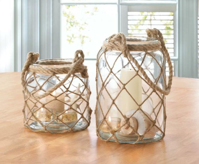 idées déco lanterne jardin esprit bord de mer