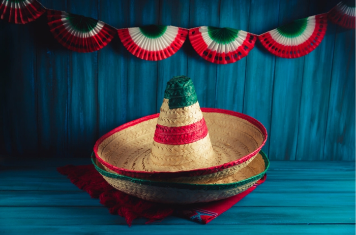 idées décoration mexicaine avec un sombrero