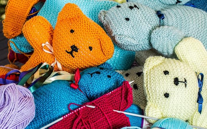 jouets tricotage tricothérapie