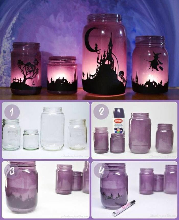 lanterne jardin diy idée facile