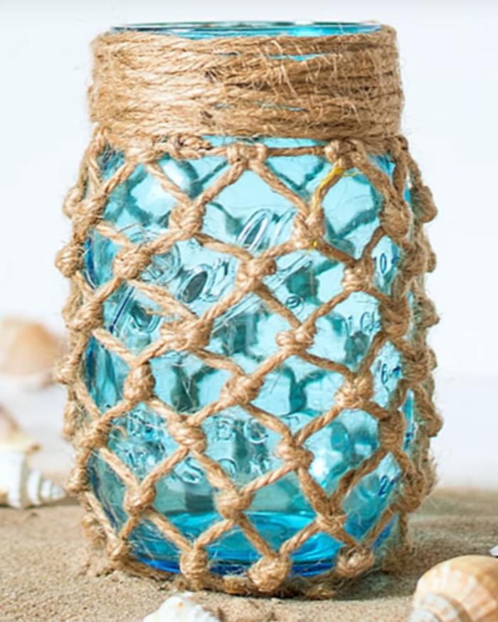 lanterne jardin idée esprit marine