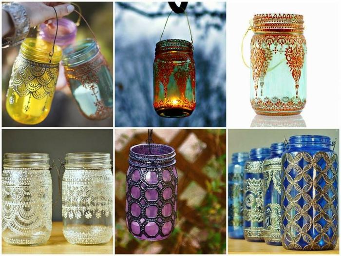 lanterne jardin style marocain