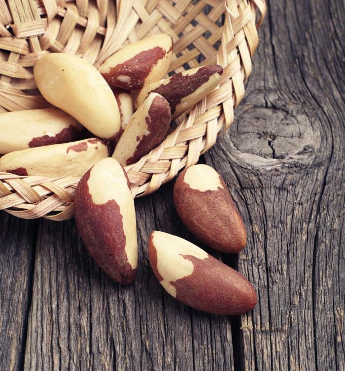 les bienfaits de la noix du brésil