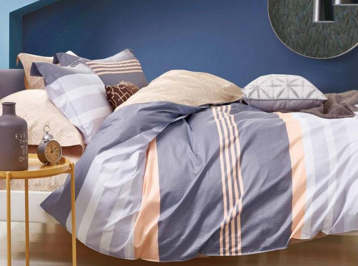 linge de lit de coton et polyester
