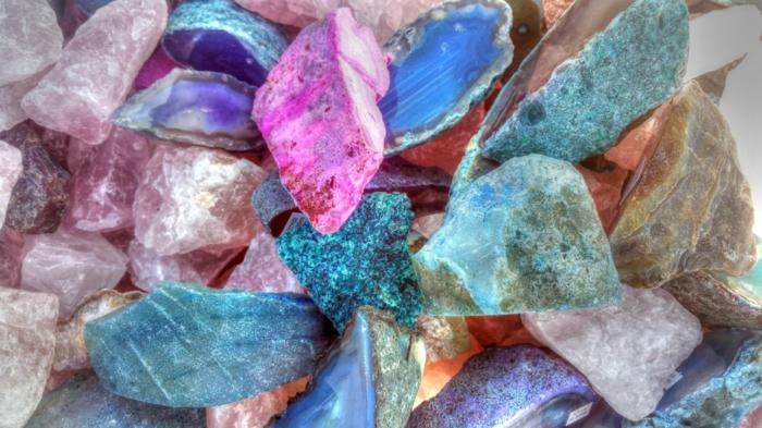 lithothérapie avec des cristaux