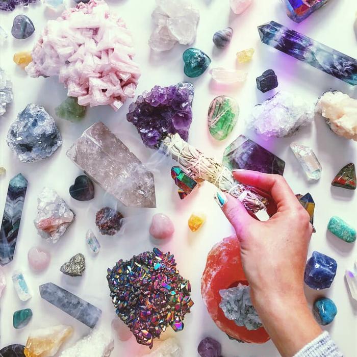 lithothérapie nettoyer les cristaux