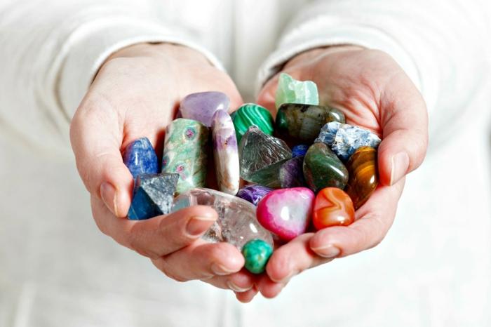 lithothérapie thérapie avec des pierres