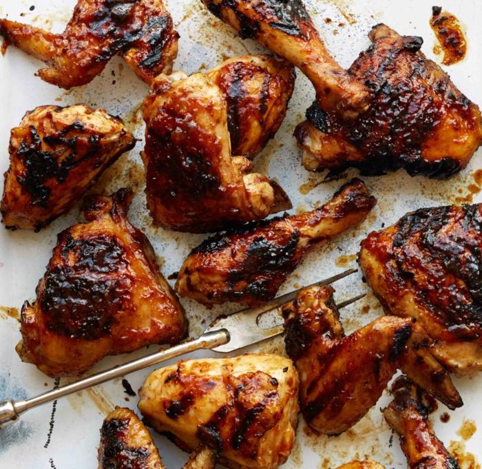 marinade poulet barbecue avec de la bière