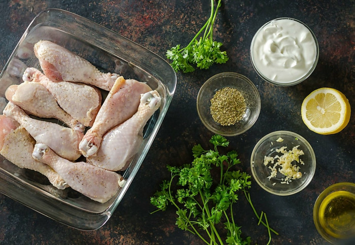 marinade poulet barbecue produits