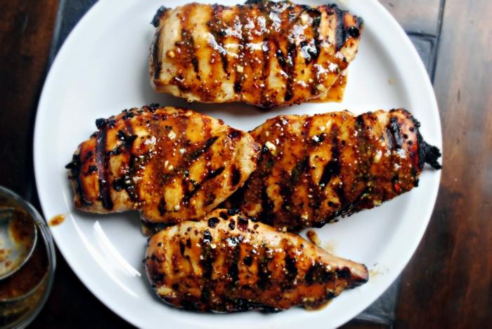 marinade poulet barbecue recette avec du miel