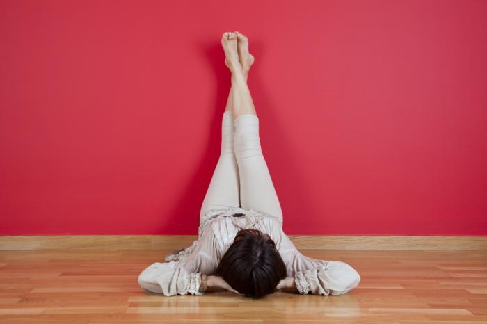 mettre ses pieds en hauteur traitement tension artérielle basse