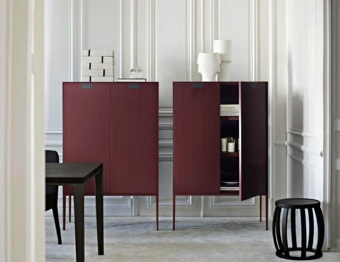 couleur lie de vin pour relooker votre int rieur avec du style. Black Bedroom Furniture Sets. Home Design Ideas