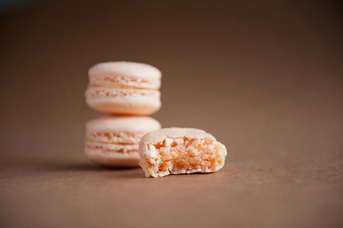 recette de macarons aux abricots