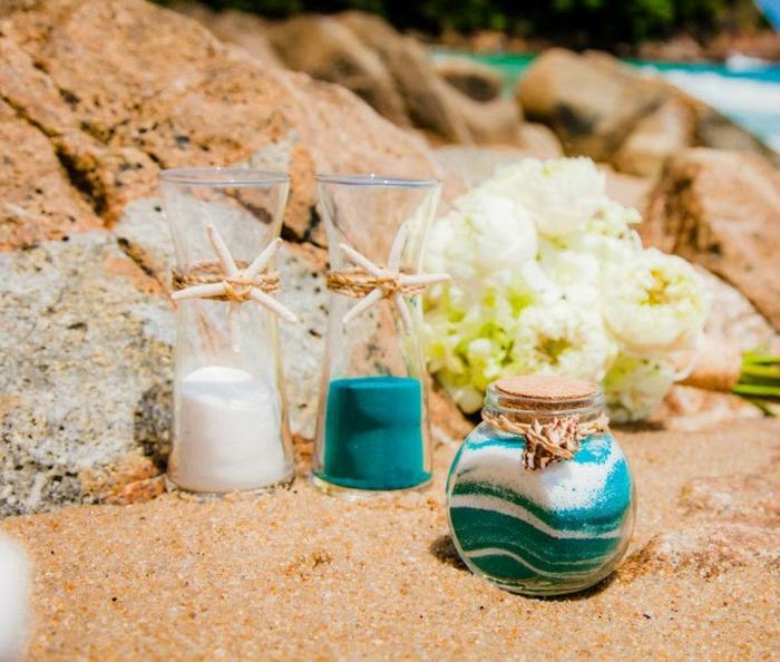 rituel du sable proposition mariage originale