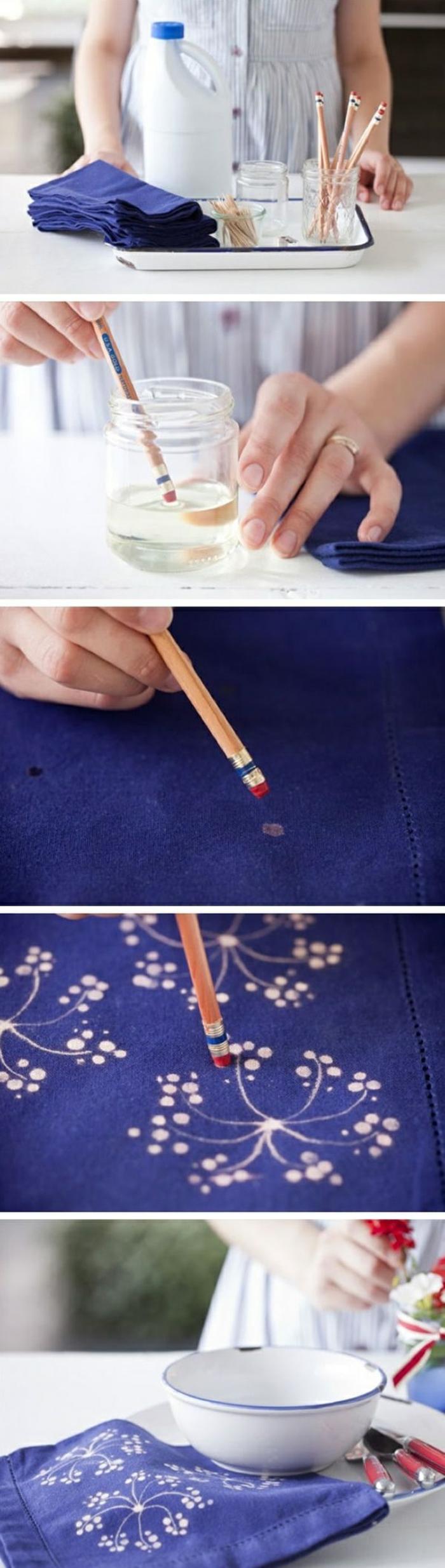stylo à décorer eau de javel concentrée