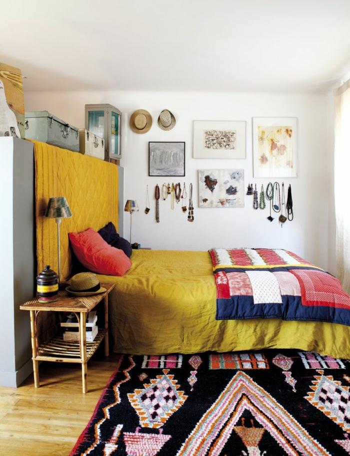 tapis berbère déco chambre