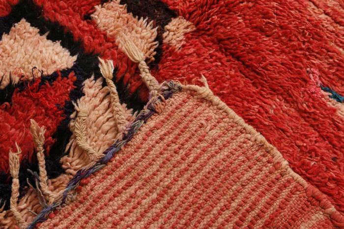 tapis berbère en couleurs vives