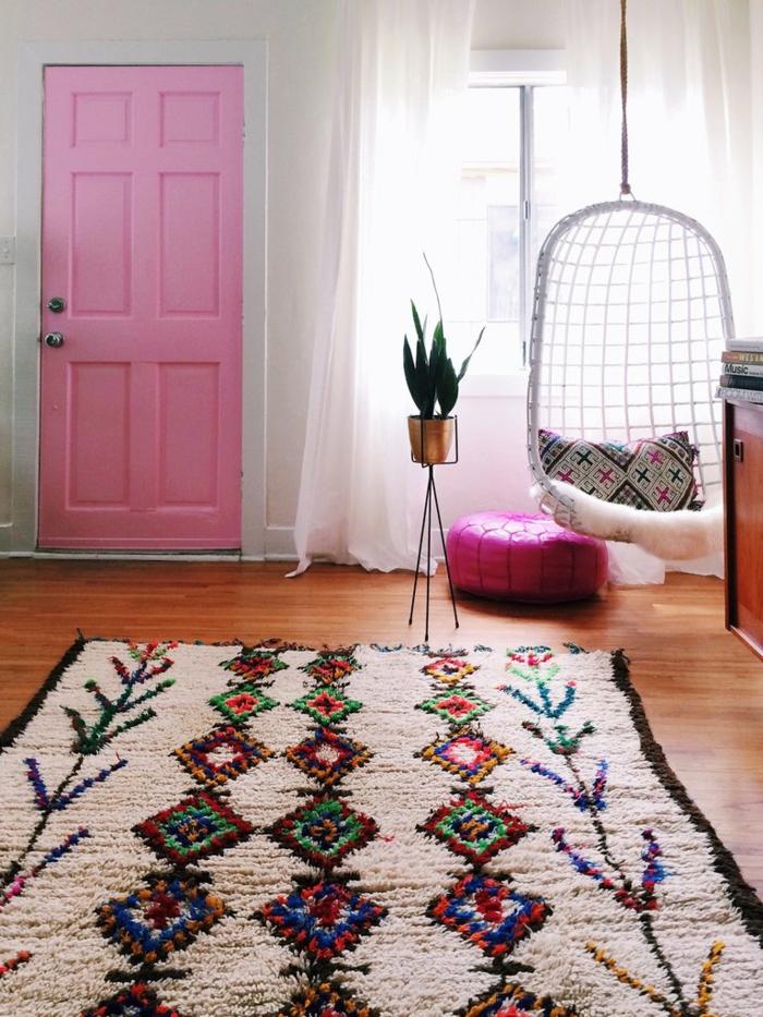 tapis berbère marocain déco chambre