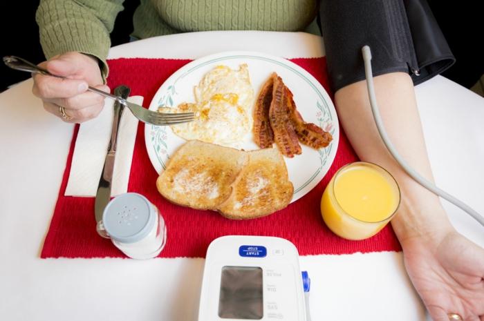 traitement de tension artérielle basse nourriture saine