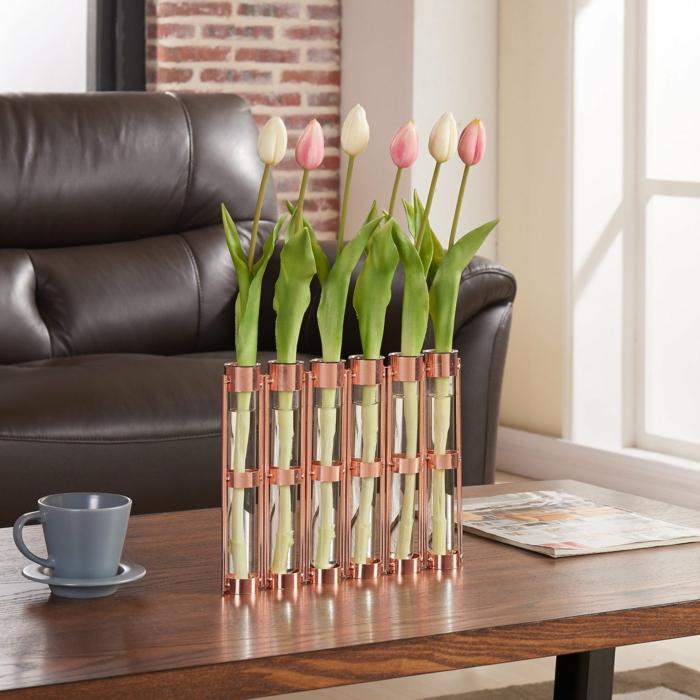 vase soliflore déco de table salon