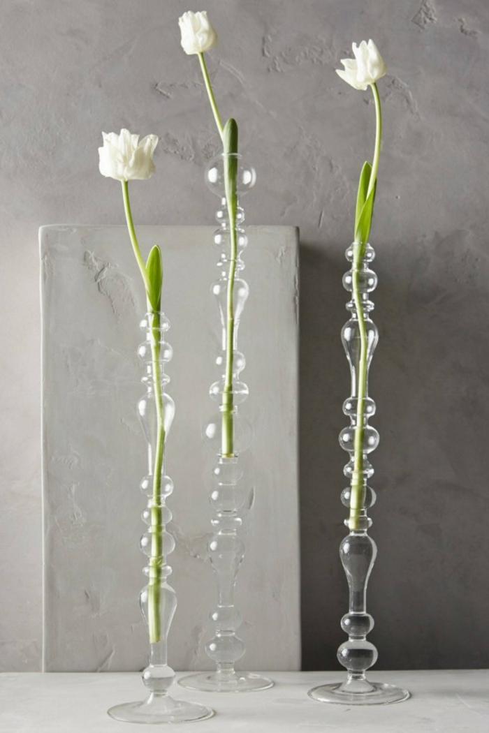 vase soliflore en verre