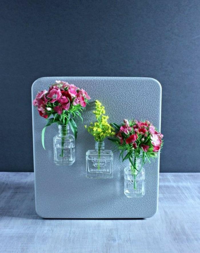 vase soliflore flacon de vernis à ongles