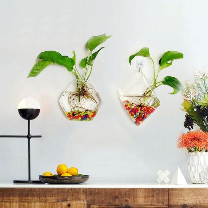 vase soliflore terrarium suspendu
