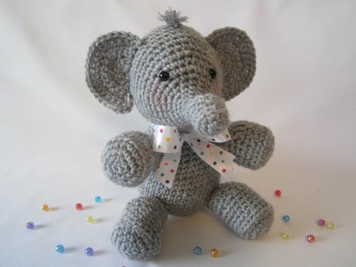 éléphant débuter au crochet amigurumi modèle