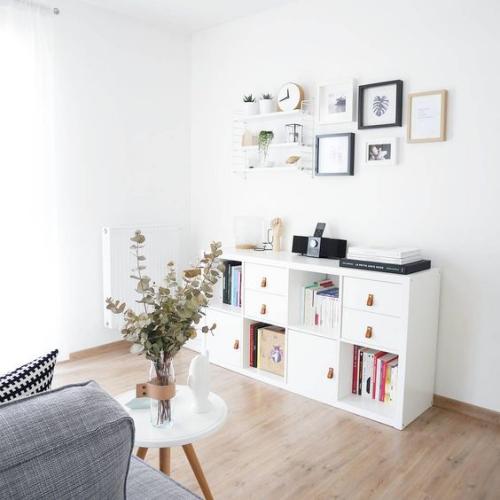 étagères Ikea Kallax jolie étagère horizontale