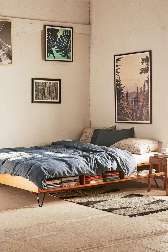 Idées cadres de lit cadres avec niches