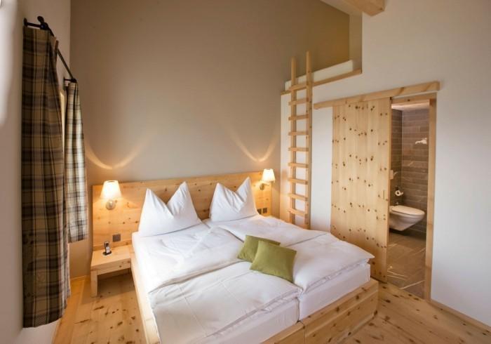Idées cadres de lit chambre très fonctionnelle
