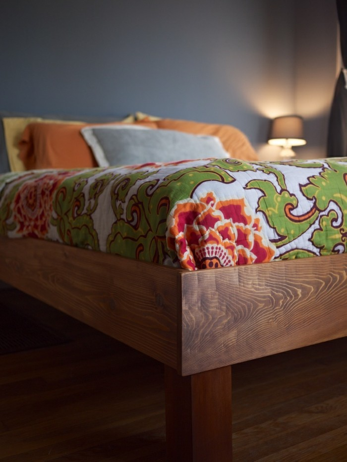 Idées cadres de lit en bois récupéré