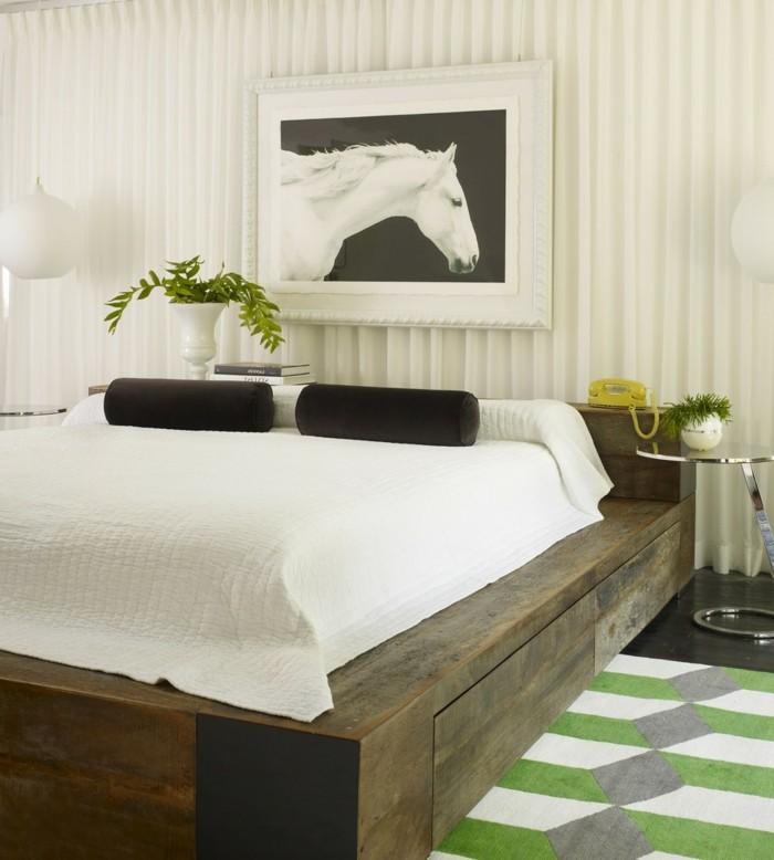 Idées cadres de lit plate-forme