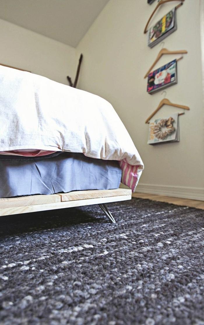 Idées cadres de lit quelques planches superposées