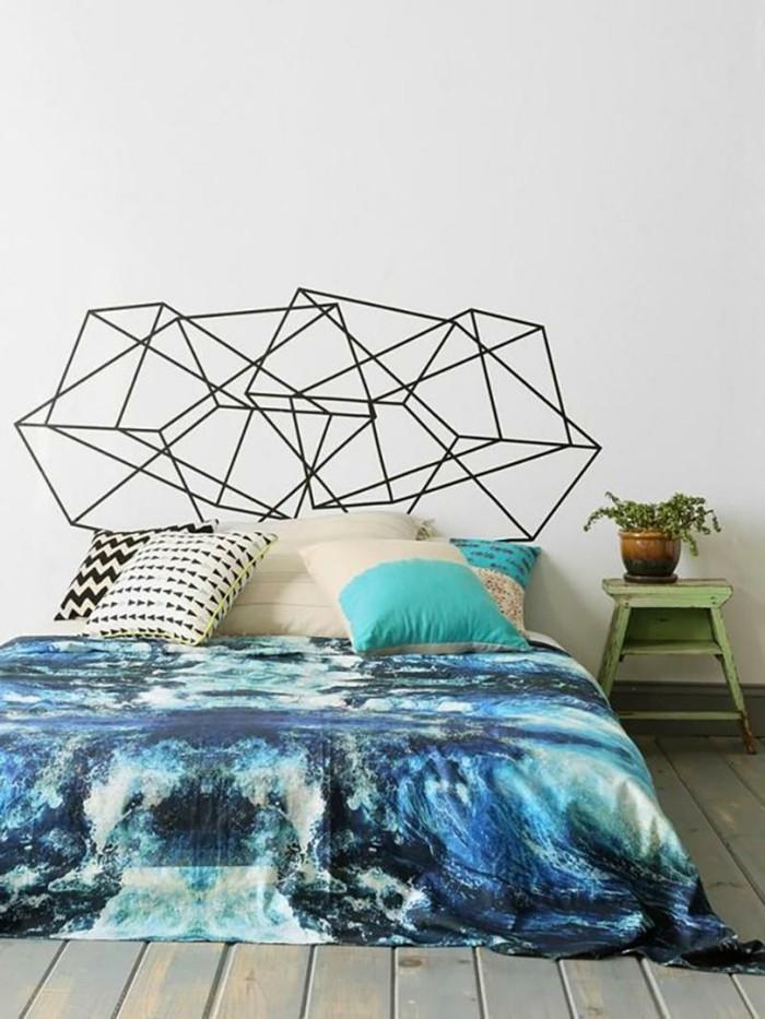 Idées cadres de lit style vernissage