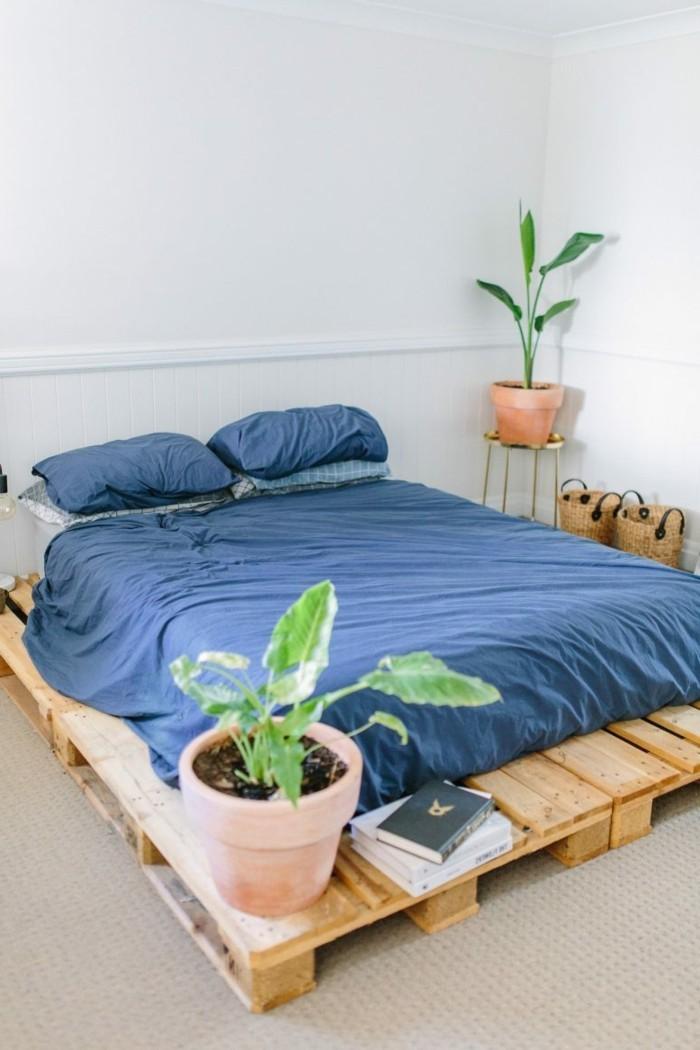 Idées cadres de lit sur pallettes