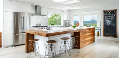 Idées pour armoires de cuisine en couleurs – ambiance conviviale