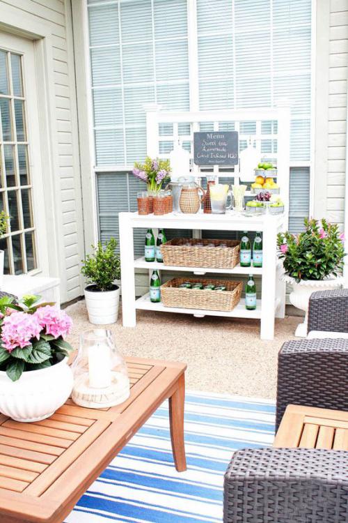 Idées pour cuisine extérieure belle terrasse