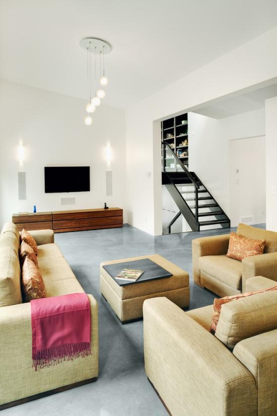 Idées pour décoration design du salon moderne crie simplicité