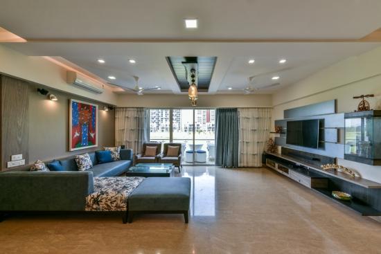 Idées pour décoration design du salon moderne grand espace