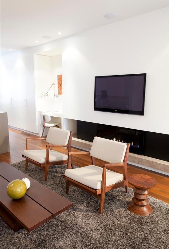 Idées pour décoration design du salon moderne petit coin de détente
