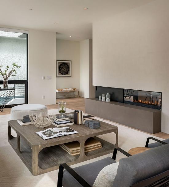 Idées pour décoration design du salon moderne quelques nuances du gris