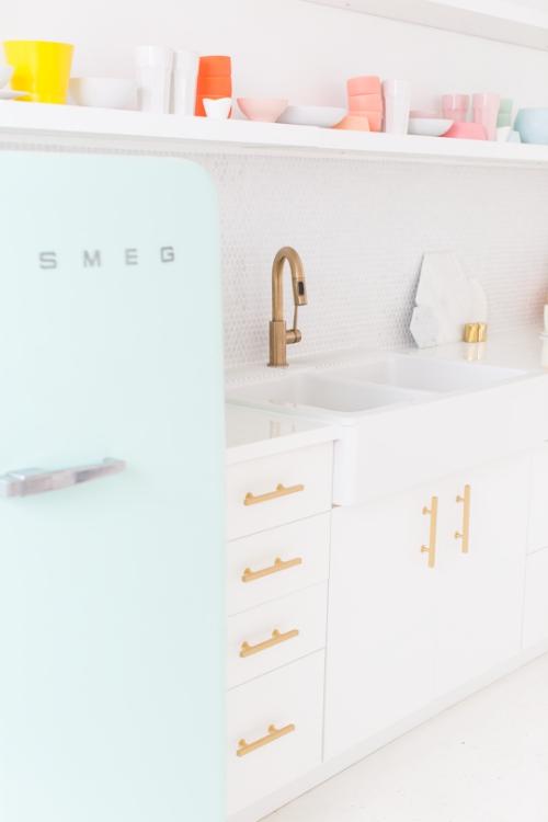 Idées pour petite cuisine évier en deux vasques
