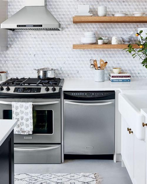 Idées pour petite cuisine arrangement moderne