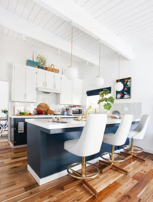 Idées pour petite cuisine comptoir avec évier